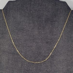 Solid 18k Yellow Gold Chain